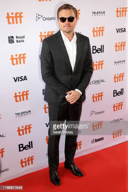 Leonardo DiCaprio attends the And We Go Green premiere during the 2019 Toronto International Film Festival at Ryerson Theatre on September 08 2019 in...