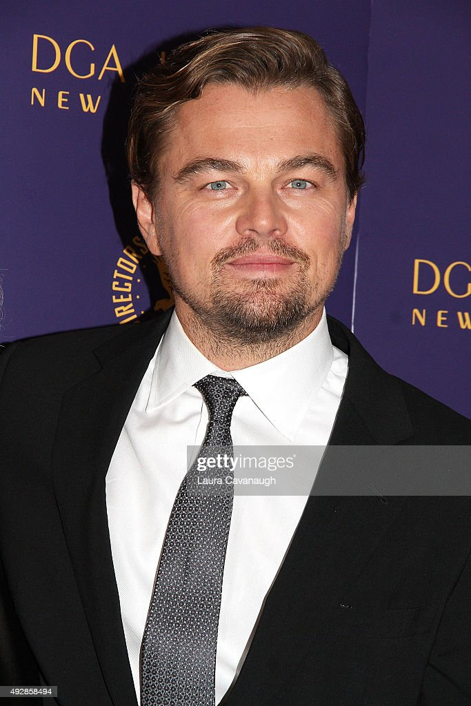 Leonardo DiCaprio attends the DGA Honors Gala 2015 on October 15, 2015 in New York City.