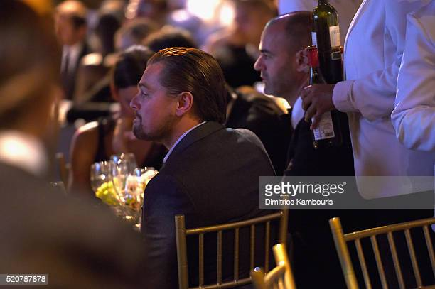 Leonardo DiCaprio attends the Foundation Fighting Blindness World Gala at Cipriani 42nd Street on April 12 2016 in New York City
