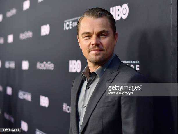 Leonardo DiCaprio attends the LA Premiere of HBO's 'Ice On Fire' at LACMA on June 05 2019 in Los Angeles California