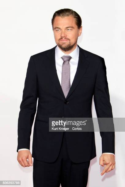 Image has been digitally retouched.) Leonardo DiCaprio attends the premiere of 'The Revenant' at the TCL Chinese Theatre in Hollywood, California on...