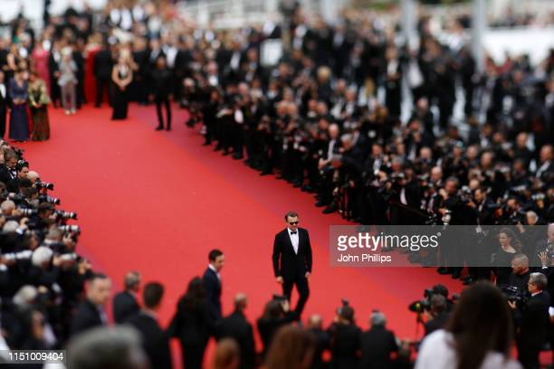 """Leonardo DiCaprio attends the screening of """"Oh Mercy! """" during the 72nd annual Cannes Film Festival on May 22, 2019 in Cannes, France."""