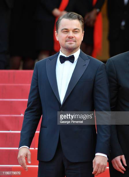"""Leonardo DiCaprio attends the screening of """"Once Upon A Time In Hollywood"""" during the 72nd annual Cannes Film Festival on May 21, 2019 in Cannes,..."""