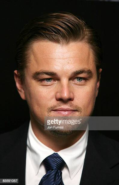 Leonardo DiCaprio attends the UK premiere of Body Of Lies at Vue West End on November 6, 2008 in London, England.