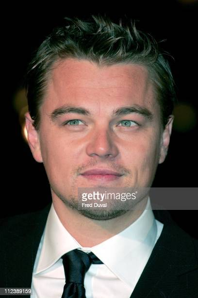 """Leonardo DiCaprio during """"Blood Diamond"""" London Premiere - Arrivals at Odeon Leicester Square in London, Great Britain."""