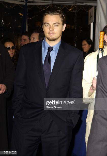 Leonardo DiCaprio during Catch Me If You Can Los Angeles Premiere at Mann Village Theatre in Westwood California United States
