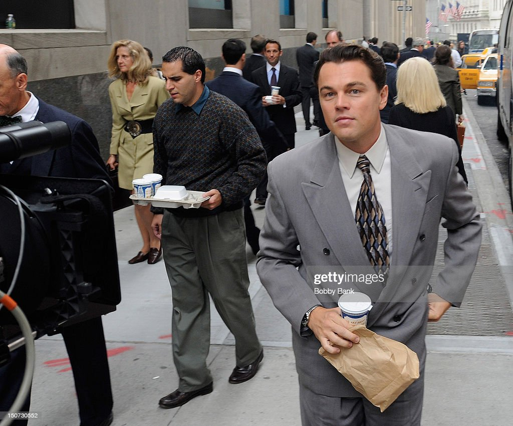 "On Location For ""The Wolf Of Wall Street"" : News Photo"