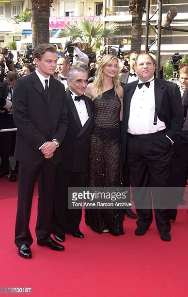 Leonardo DiCaprio Martin Scorsese Cameron Diaz Harvey Weinstein