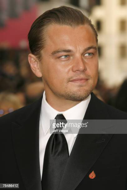 Leonardo DiCaprio nominee Best Actor in a Leading Role for Blood Diamond at the Kodak Theatre in Los Angeles California