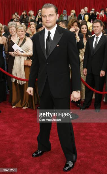 Leonardo DiCaprio nominee Best Actor in a Leading Role for Blood Diamond at the Kodak Theatre in Los Angeles CA