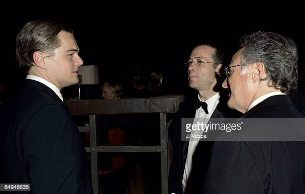 Leonardo DiCaprio Richard Lovett and Michael Mann