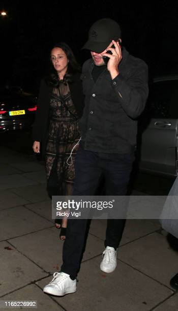Leonardo DiCaprio seen attending Once Upon A Time In Hollywood UK film premiere after party on July 30 2019 in London England