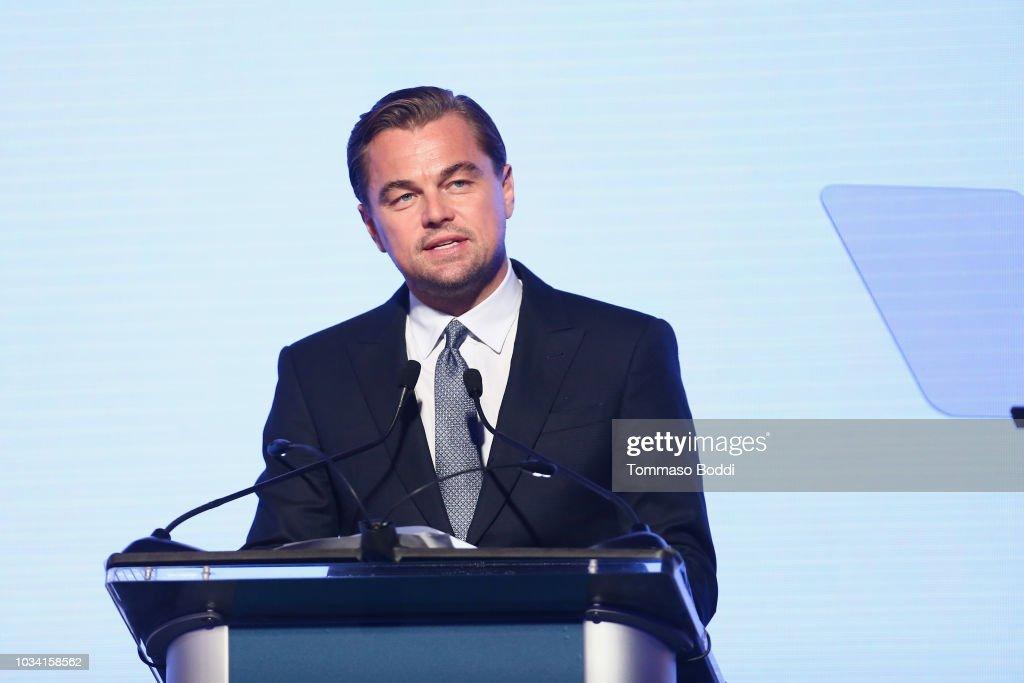 Leonardo DiCaprio Foundation Gala - Inside : News Photo