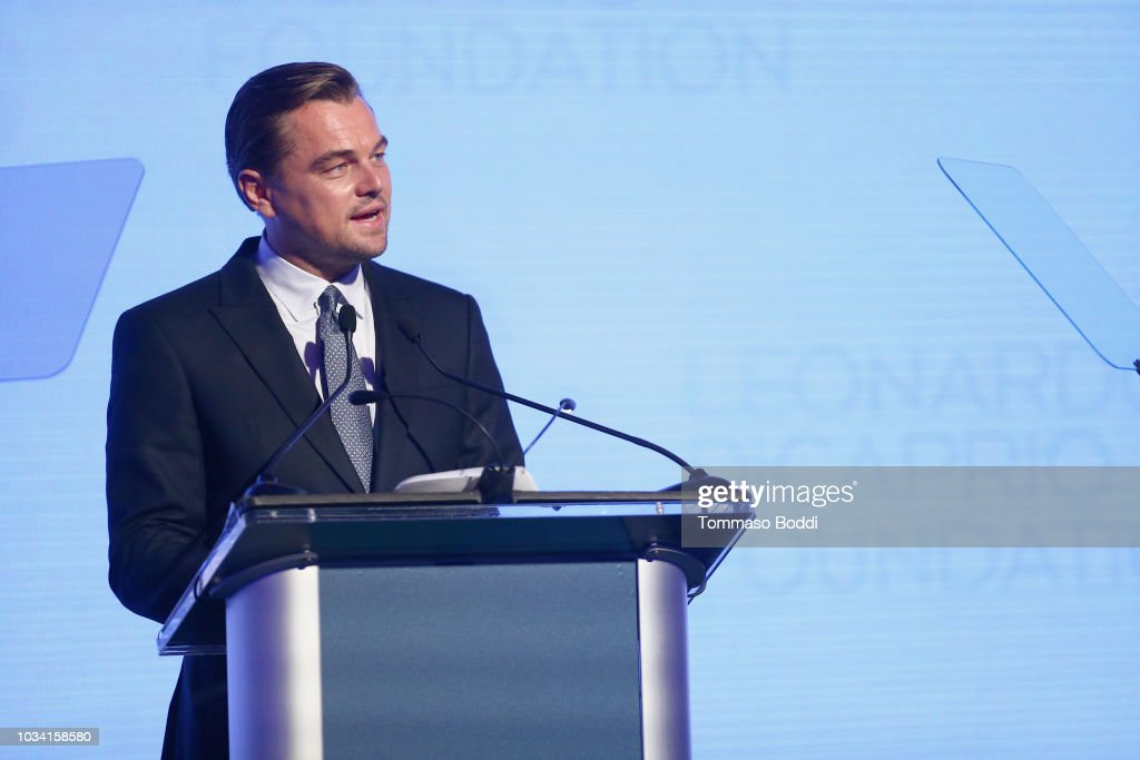 Leonardo DiCaprio Foundation Gala - Inside : News Photo