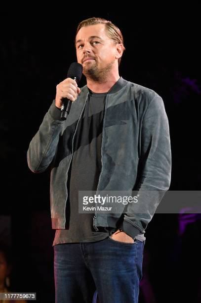 Leonardo DiCaprio speaks onstage during the 2019 Global Citizen Festival: Power The Movement in Central Park on September 28, 2019 in New York City.