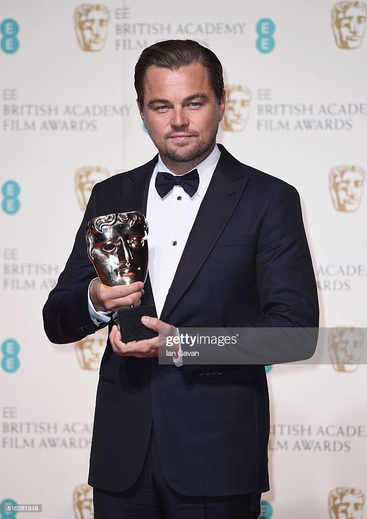 EE British Academy Film Awards - Winners Room : News Photo