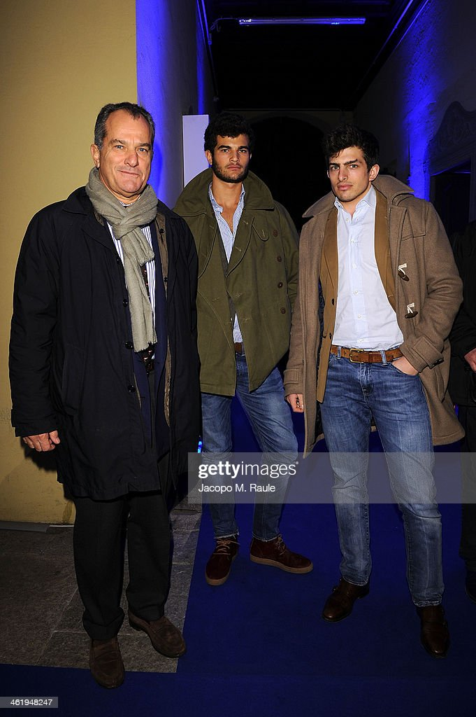 Bugatti and L'Uomo Vogue Collection Party - Arrivals - Milan Fashion Week Menswear Autumn/Winter 2014 : News Photo