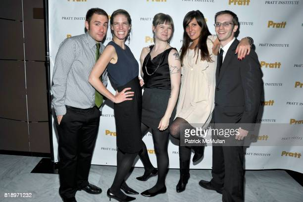 Leonardo Gomez Ashley Berger Amber Myers Kate Unver and Kevin Andreano attend 2010 PRATT Institute Honors Catherine Malandrino After Party at...