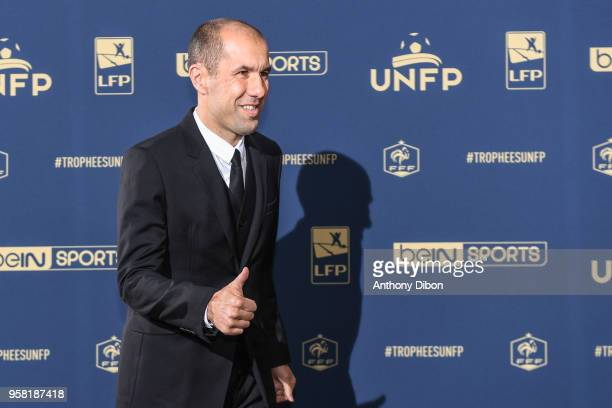 Leonardo Jardim coach of Monaco during the ceremony for the UNFP Trophy Awards at Studio Gabriel on May 13, 2018 in Paris, France.