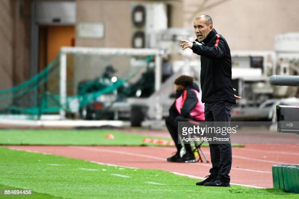 Leonardo Jardim head coach of Monaco during the Ligue 1 match between AS Monaco and Angers SCO at Stade Louis II on December 2 2017 in Monaco