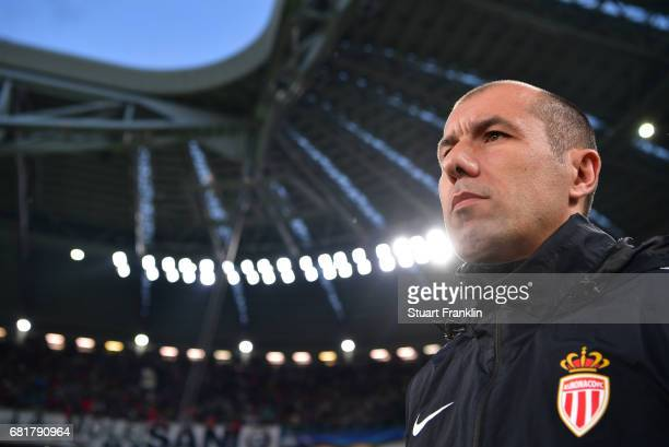 Leonardo Jardim, head coach of Monaco looks on during the UEFA Champions League Semi Final second leg match between Juventus and AS Monaco at...