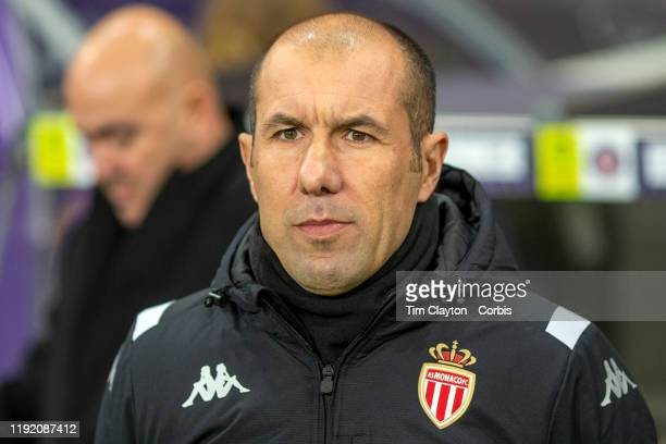 December 04: Leonardo Jardim, head coach of Monaco, on the sideline during the Toulouse FC V AS Monaco, French Ligue 1 regular season match at the...