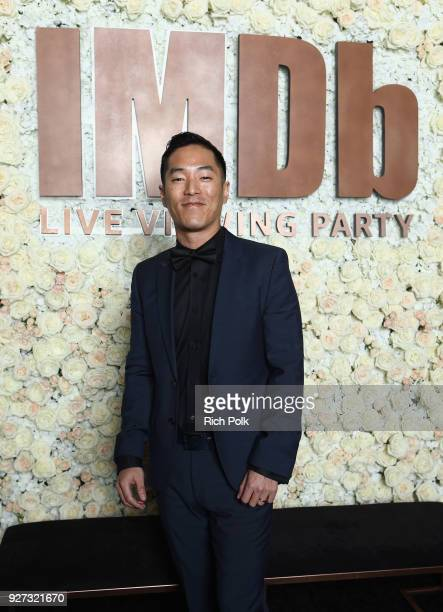 Leonardo Nam attends the IMDb LIVE Viewing Party on March 4 2018 in Los Angeles California