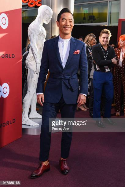 Leonardo Nam attends Westworld Season 2 Los Angeles Premiere on April 16 2018 in Los Angeles California