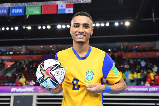 LTU: Brazil v Panama: Group D - FIFA Futsal World Cup 2021