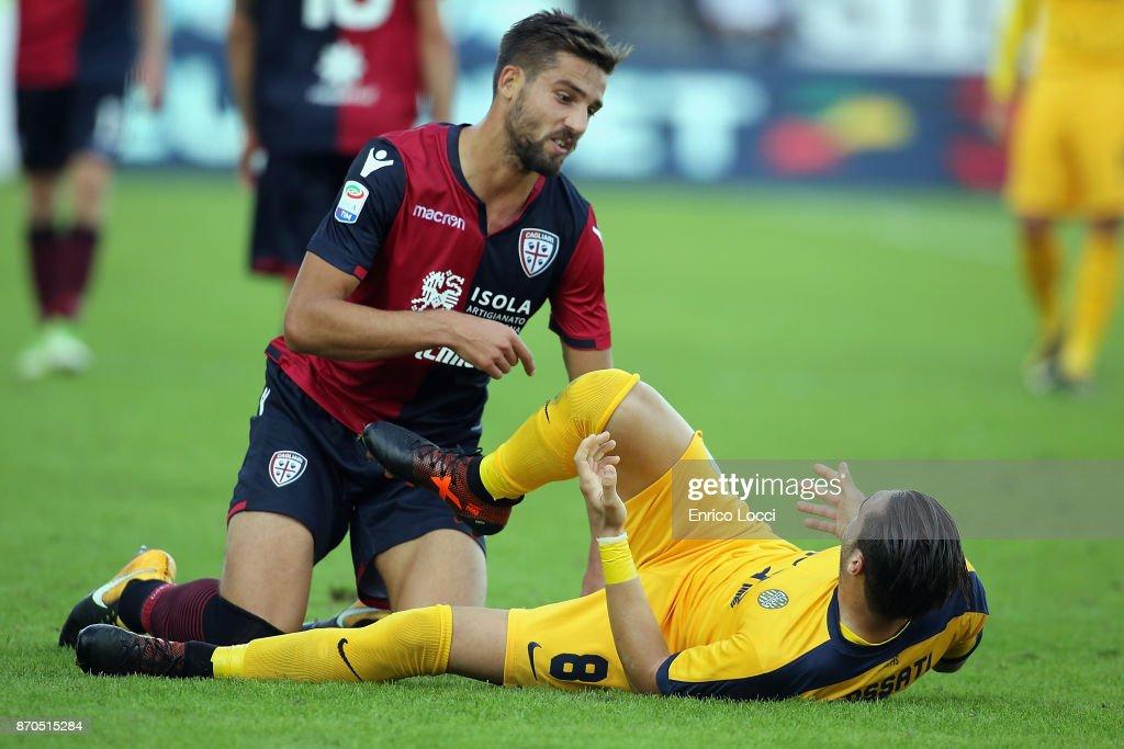 Cagliari Calcio v Hellas Verona FC - Serie A