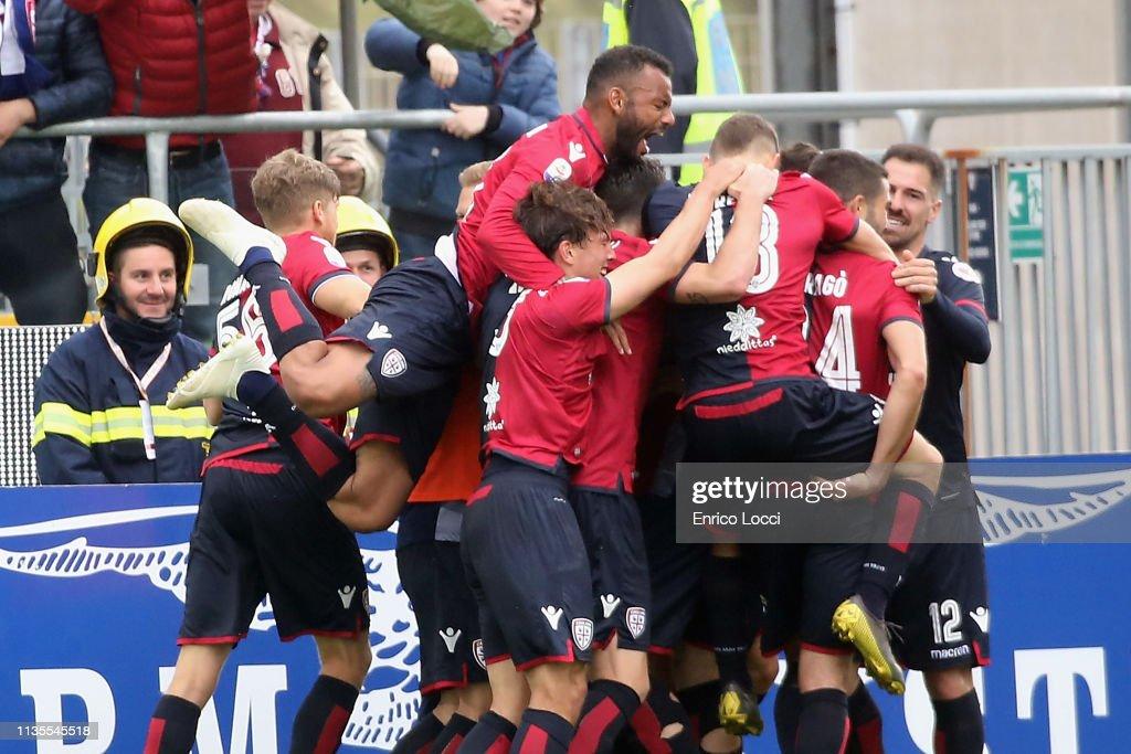 Cagliari v SPAL - Serie A : Fotografía de noticias
