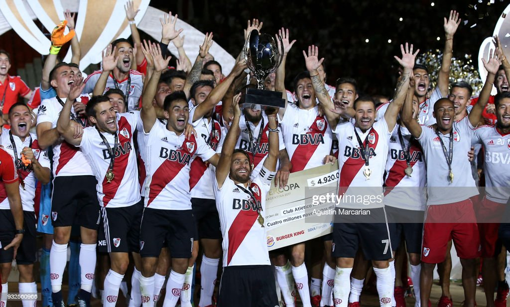 River Plate v Boca Juniors - Supercopa Argentina 2018 : News Photo