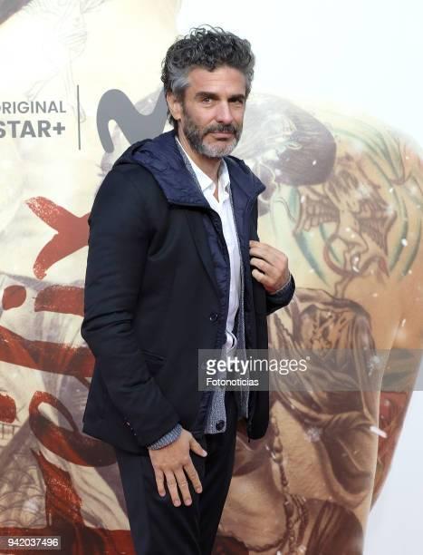 Leonardo Sbaraglia attends 'Felix' Episode 1 premiere at Callao Cinema on April 4 2018 in Madrid Spain
