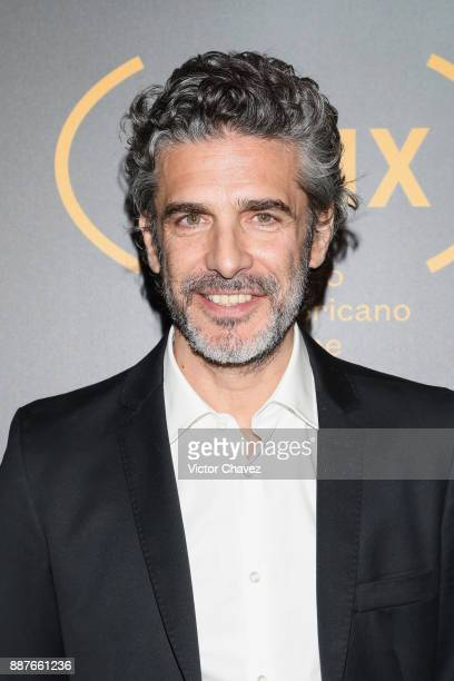 Leonardo Sbaraglia attends the Premio Iberoamericano De Cine Fenix 2017 press room at Teatro de La Ciudad on December 6 2017 in Mexico City Mexico