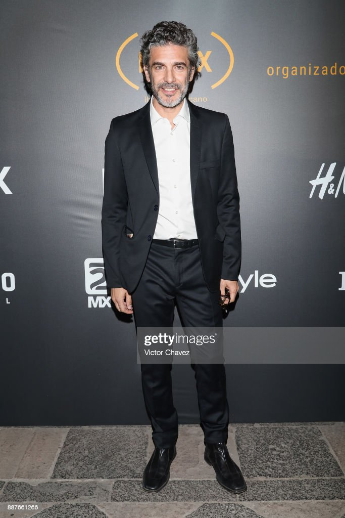 Leonardo Sbaraglia attends the Premio Iberoamericano De Cine Fenix 2017 press room at Teatro de La Ciudad on December 6, 2017 in Mexico City, Mexico.