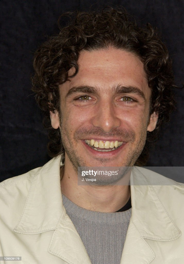 Leonardo Sbaraglia during Cannes 2002 - 'Intacto' Portraits at The American Pavillion in Cannes, France.