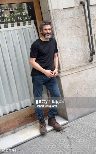 Leonardo Sbaraglia seen on the set of his latest series 'Felix' on June 27 2017 in Barcelona Spain