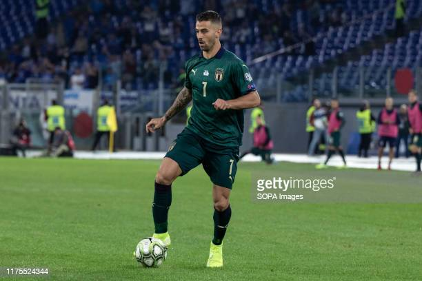 Leonardo Spinazzola of Italy seen in action during the UEFA Euro 2020 qualifying match between Italy and Greece at the Stadio Olimpico in Rome