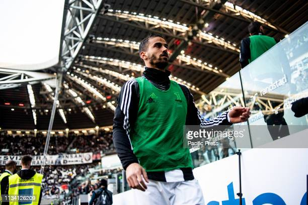 Leonardo Spinazzola of Juventus during the Football Match Juventus FC vs Empoli Juventus won 10 at Allianz Stadium in Turin Italy
