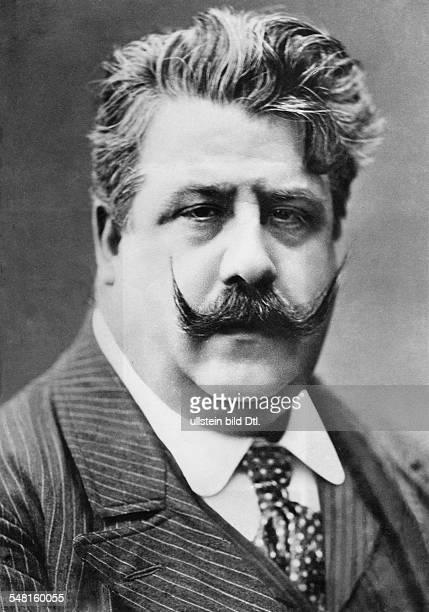 Leoncavallo Ruggiero Composer Musician Italien *25041857 Portrait ca 1904 Published in 'Berliner Illustrirte Zeitung' 47/1904 Vintage property of...
