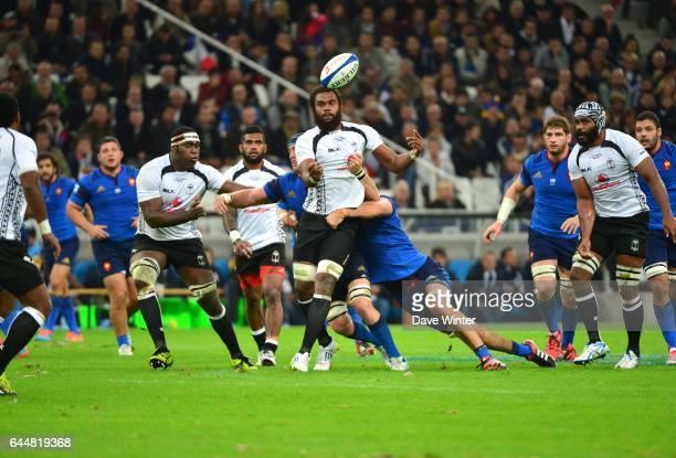 Leone NAKARAWA France / Fidji Test Match Marseille Photo Dave Winter / Icon Sport