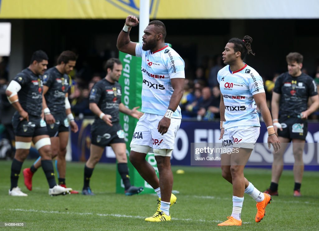 Clermont v Racing 92 - Champions Cup: Quarter-Final