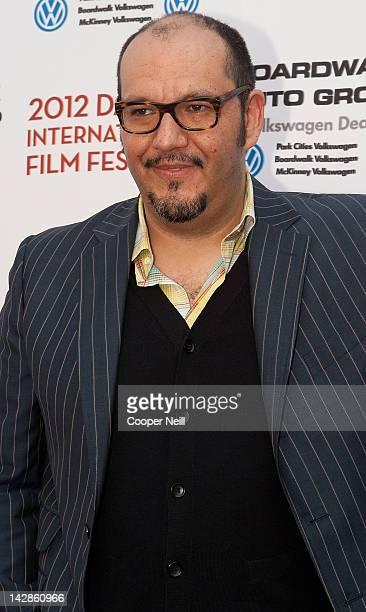 Leonel Fernandez arrives for day two of the 2012 Dallas International Film Festival on April 13 2012 in Dallas Texas