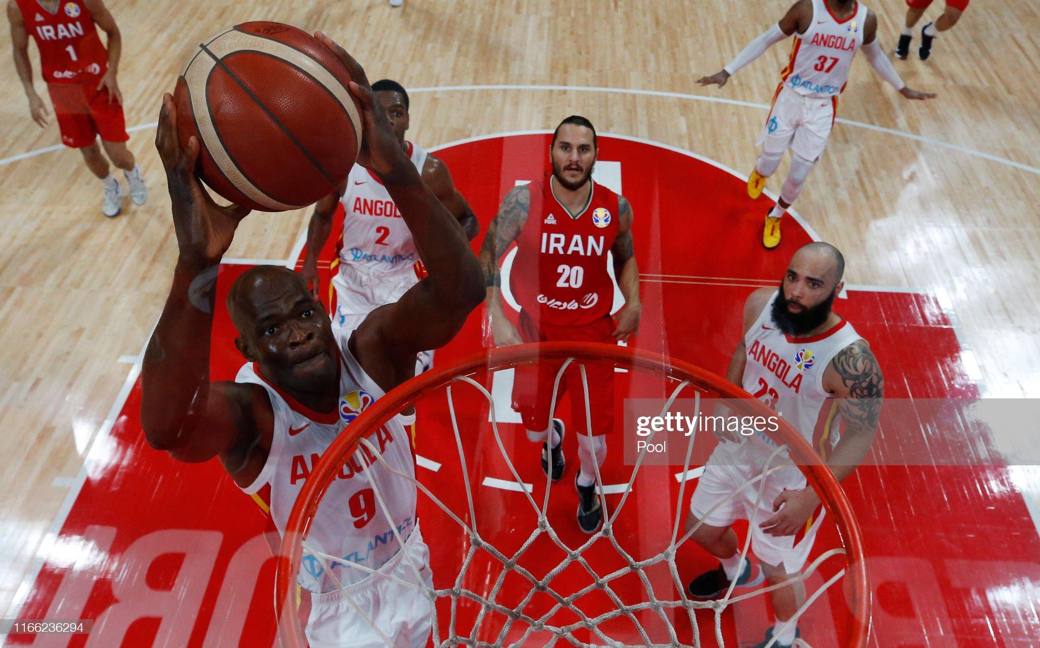 Angola v Iran: Group N - FIBA World Cup 2019 : News Photo