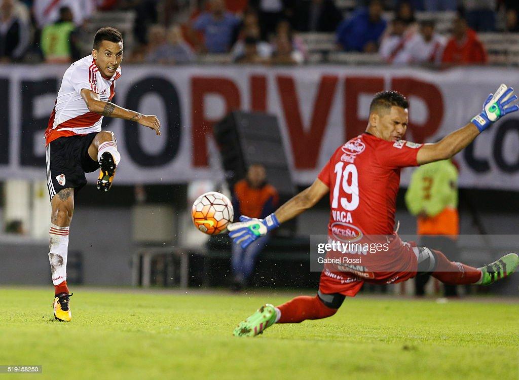 River Plate v The Strongest - Copa Bridgestone Libertadores 2016 : News Photo
