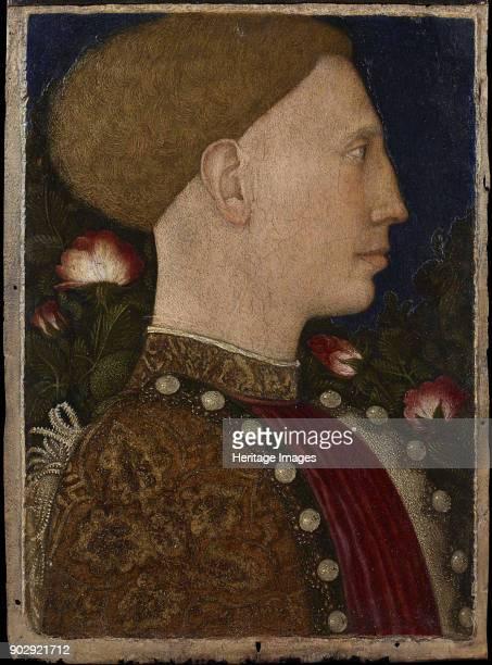 Leonello d'Este Marquis of Ferrara Found in the Collection of Accademia Carrara Bergamo