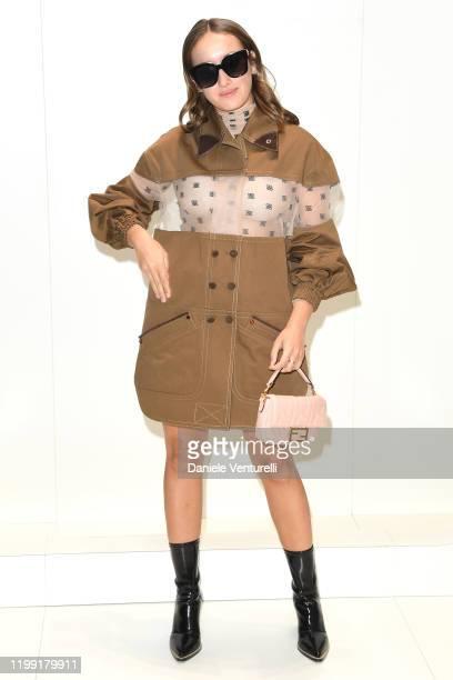 Leonetta Luciano Fendi attends the Fendi fashion show on January 13, 2020 in Milan, Italy.
