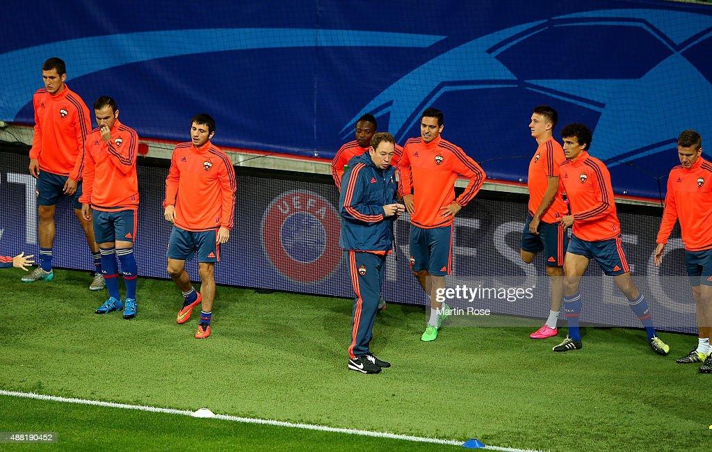 CSKA Moscow  - Training & Press Conference : News Photo
