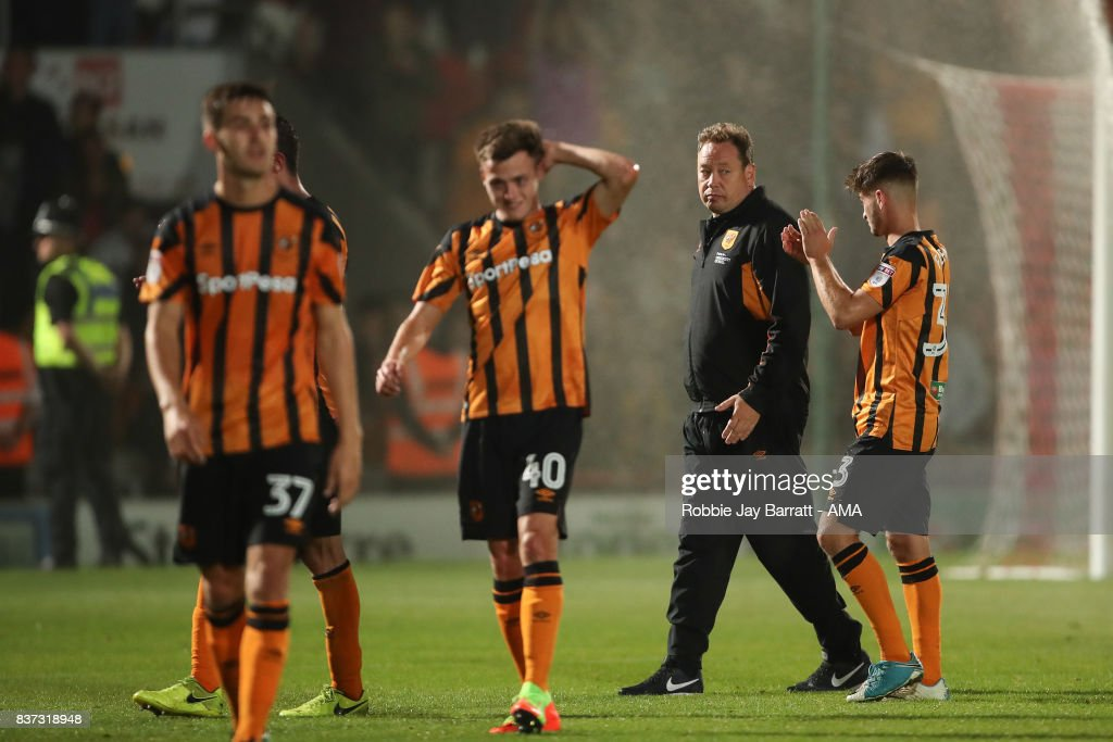 Doncaster Rovers v Hull City - Carabao Cup Second Round : News Photo