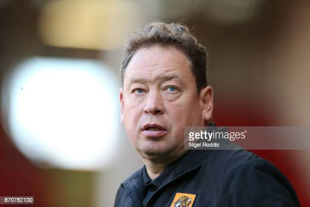 Leonid Slutsky manager of Hull City during the Sky Bet Championship match between Sheffield United and Hull City at Bramall Lane on November 4 2017...